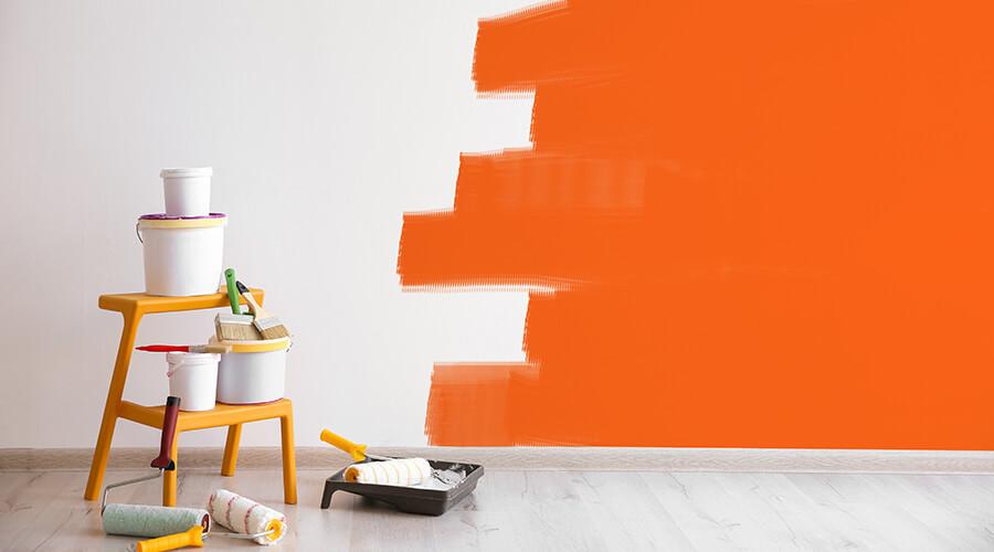 malowanie ścian, remont