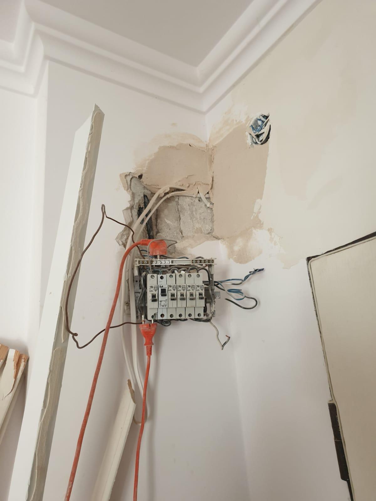 instalacja elektryczna, remont