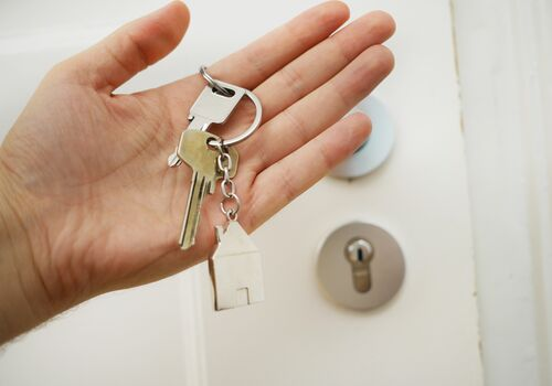 klucze do odbiór mieszkania od dewelopera